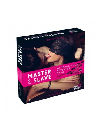 Master and Slave Pink Premium - KIT BDSM